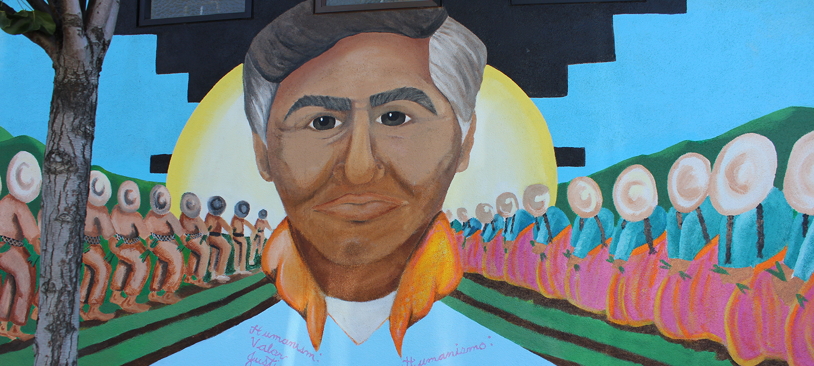 Mayfair san jose for Cesar chavez mural
