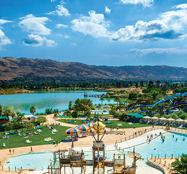 Raging Waters water park at Lake Cunningham