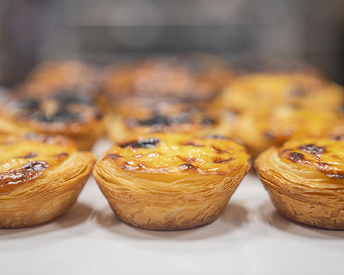 Egg tarts from Pastelaria ADEGA
