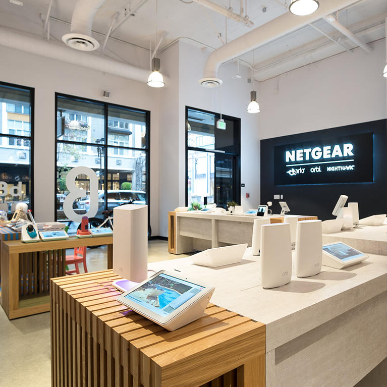 Netgear Santana Row showroom