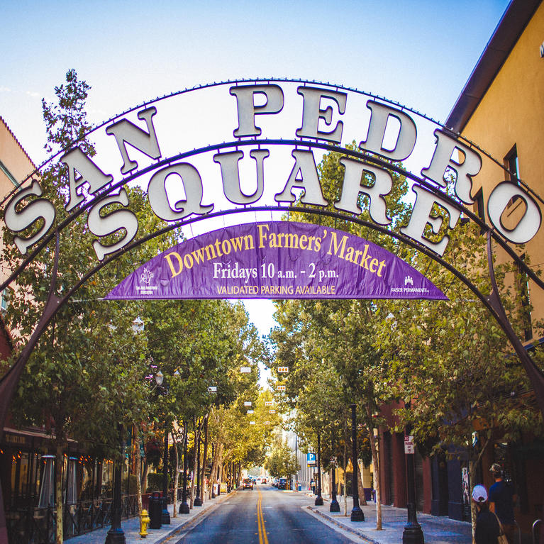 San Pedro Square in Downtown San Jose